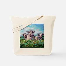 Unique Happy cow Tote Bag