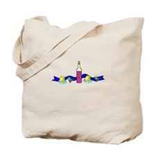 Wine and Cheese Tote Bag
