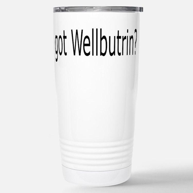 Cute Anti depressant Travel Mug