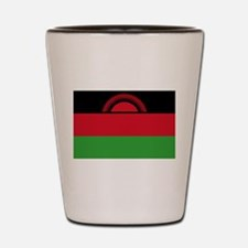 Malawi Flag Shot Glass