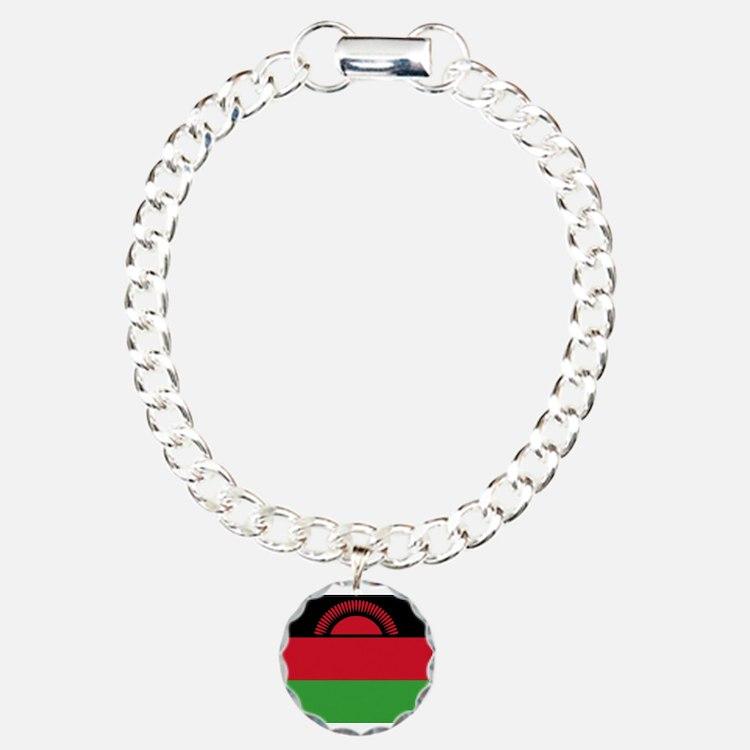 Malawi Flag Bracelet
