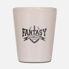 Fantasy Football Champion Shot Glass