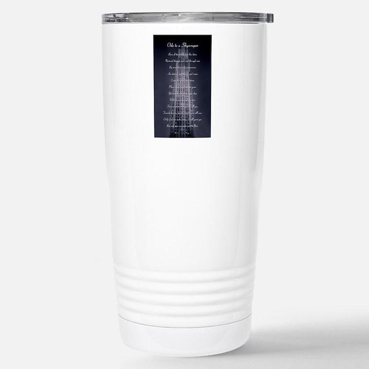 Cute Skyscrapers Travel Mug
