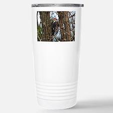 Male Pileated Woodpecker Travel Mug