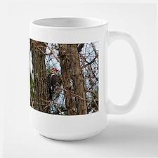 Male Pileated Woodpecker Mugs