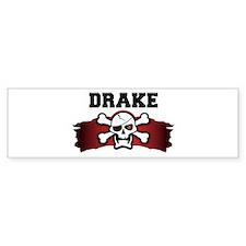 drake is a pirate Bumper Bumper Sticker