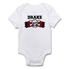 drake is a pirate Infant Bodysuit
