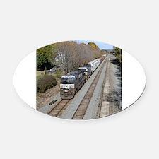 Funny Norfolk southern Oval Car Magnet