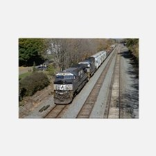 Cute Norfolk southern Rectangle Magnet