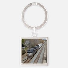 Cute Norfolk southern Square Keychain