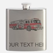 Fire Truck (Custom) Flask