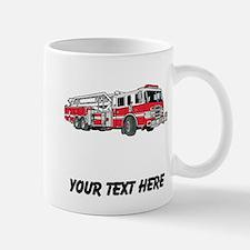 Fire Truck (Custom) Mugs