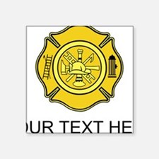 Firefighter Badge (Custom) Sticker