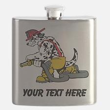 Fire Dog (Custom) Flask