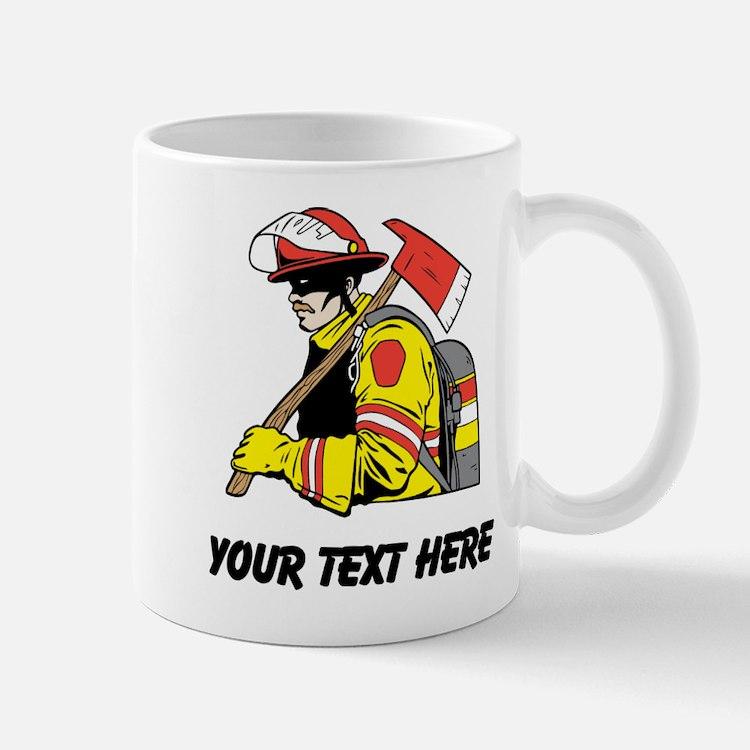 Firefighter (Custom) Mugs
