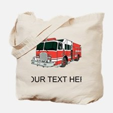 Firetruck (Custom) Tote Bag