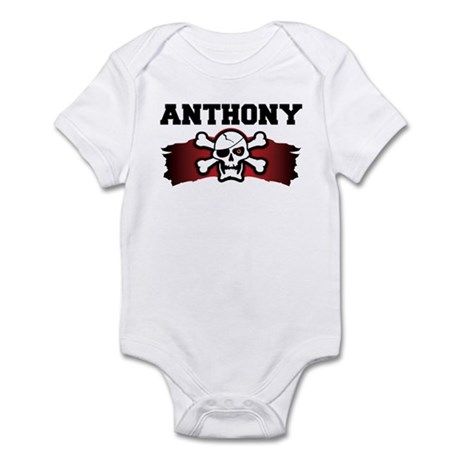 anthony is a pirate Infant Bodysuit