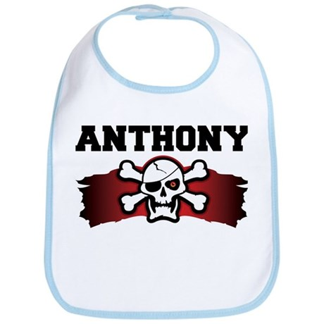 anthony is a pirate Bib