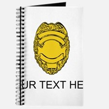 Police Badge (Custom) Journal