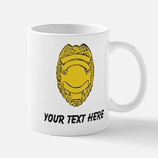 Police Badge (Custom) Mugs
