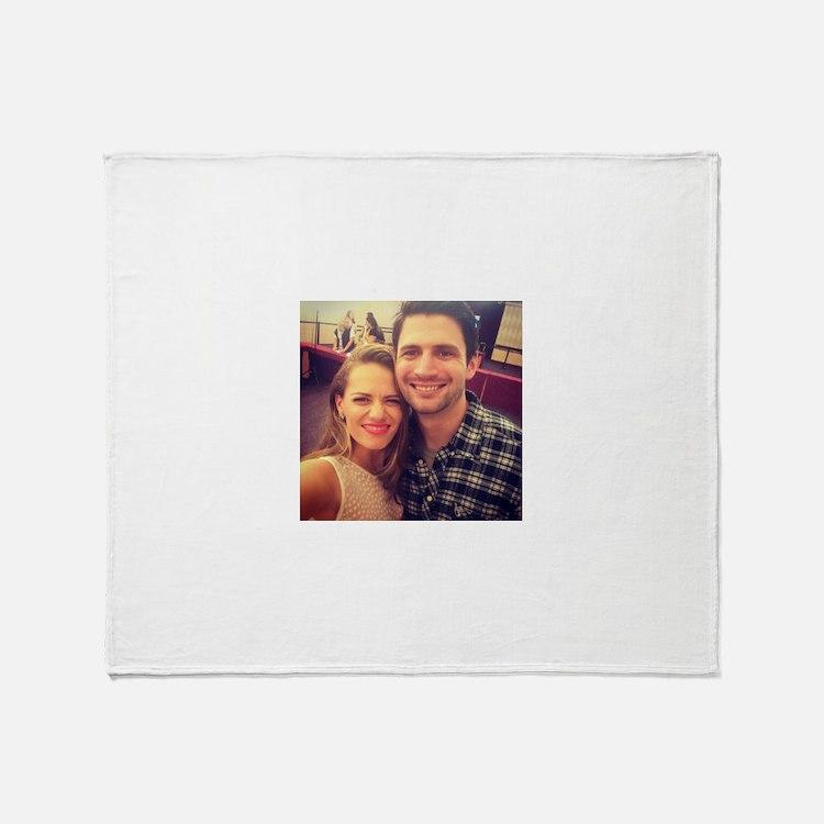 Nathan and haley Throw Blanket