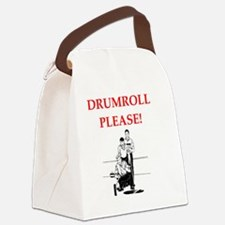 Funny Curling team Canvas Lunch Bag
