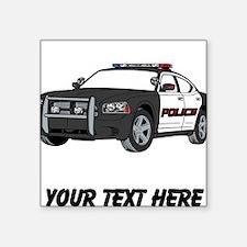 Police Car (Custom) Sticker