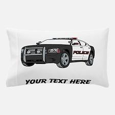 Police Car (Custom) Pillow Case