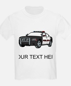 Police Car (Custom) T-Shirt