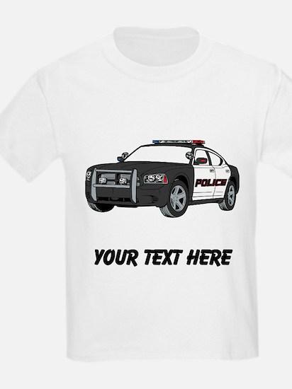 Police Car (Custom) T-Shirt