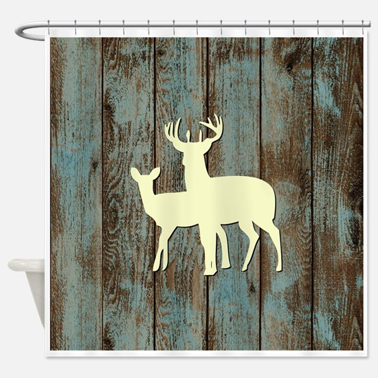 BIG RACK Shower Curtain