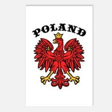 Poland Eagle Postcards (Package of 8)