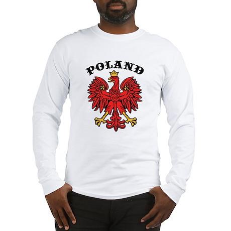 Poland Eagle Long Sleeve T-Shirt