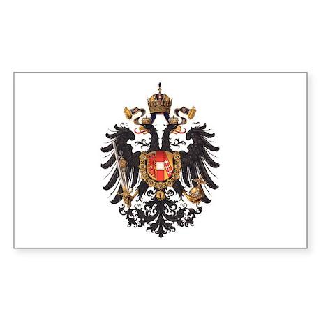 Royal House of Habsburg-Lorraine Sticker (Rectangu