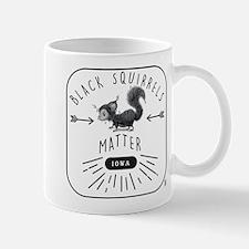 Black Squirrels Iowa Nature Mugs