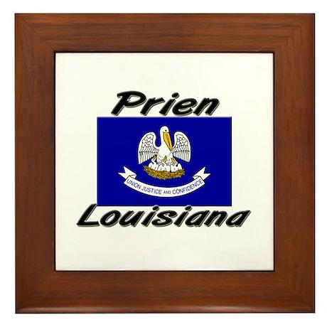 Prien Louisiana Framed Tile