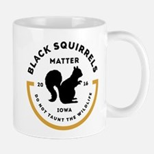Black Squirrels Matter Iowa Mugs