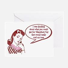 Cute Bad valentine Greeting Card