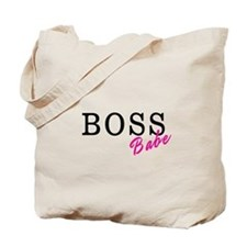 Boss Babe Black Tote Bag