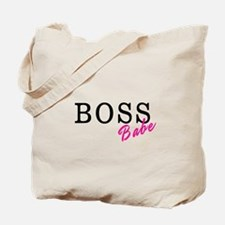 Boss Babe Black Tote Bag