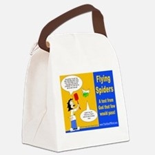 Flying Spider Test Canvas Lunch Bag