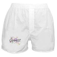 Garrett surname artistic design with Boxer Shorts