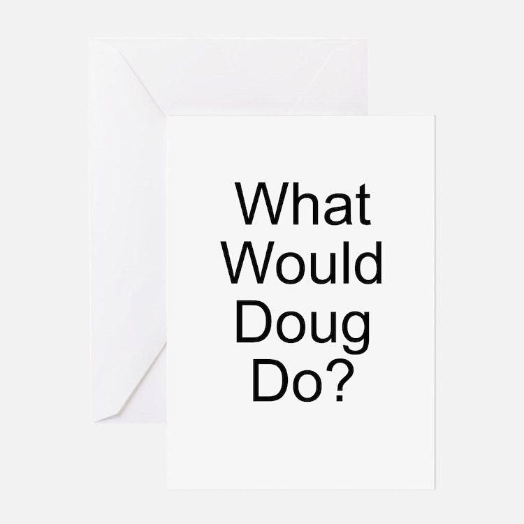 Cute Doug Greeting Card