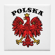 Polska Eagle Tile Coaster
