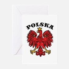Polska Eagle Greeting Cards (Pk of 10)