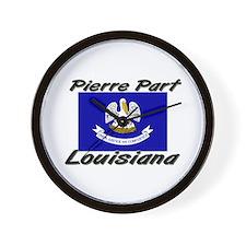 Pierre Part Louisiana Wall Clock