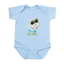 Cute Bulldog daddy Infant Bodysuit
