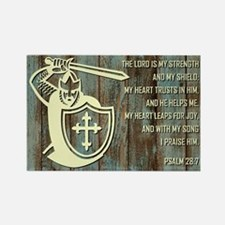 THE LORD IS MY... Rectangle Magnet