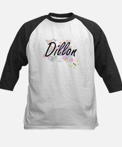 Dillon surname artistic design wit Baseball Jersey