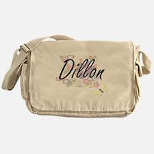 Dillon surname artistic design with Messenger Bag